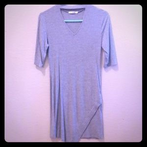 Heart&Hips Mini Dress with Half Sleeves Size Large